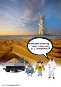 humor - homok szállítás - Füsti és Dugó
